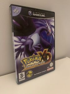 Pokemon XD: Gale of Darkness (Nintendo Gamecube, 2005) Box + Game