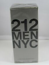 212 by Carolina Herrera 3.4 oz / 100 ml EDT Cologne for Men New In Box