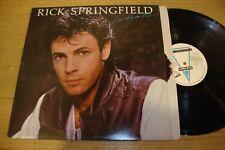 Rick Springfield - Living In OZ - LP Record    EX VG+