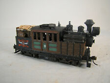 HO Logging Climax - custom weathered - DCC & Sound TSU 1100 - lot 12