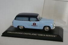 Ixo Presse 1/43 - Simca Aronde Chatelaine Simca service