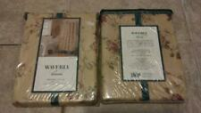 NEW in Package Waverly Harbor House SHOWER CURTAIN Gold Floral Rose
