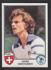 Panini - Sport Superstars Euro Football 82 # 337 Heinz Gunthardt - Tennis