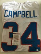 EARL CAMPBELL AUTOGRAPH SIGNED JERSEY AUTO HOUSTON OILERS JSA AUTHENTIC HOF 91