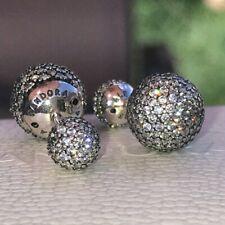 Drops Reversible Cz Earrings 290737Cz *New* Genuine Pandora S925 Ale Pave