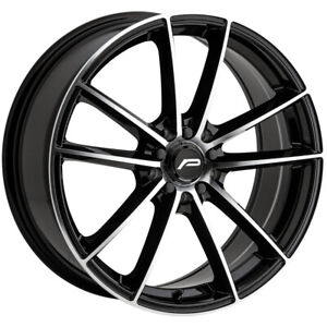 "Pacer 792MB Infinity 17x7.5 5x100/5x4.5"" +42mm Black/Machined Wheel Rim 17"" Inch"