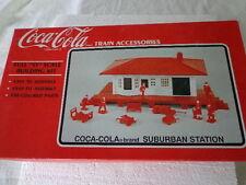 K-LINE COCA COLA  O SCALE SUBURBAN STATION TRAIN ACCESSORIES COKE TOY TRAIN