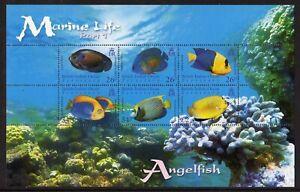 British Indian Ocean Terr. 2006 Marine Life set x 4 min. sheets fine fresh MNH