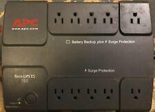 APC Back -UPS 750 BE750BB 10 Outlet UPS UPS Power Supply (No Battery)