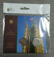 NEW ROYAL MINT BREXIT TWIN COIN  PACK SEALED .ENTRY & WITHDRAWAL EU. LTD 5000