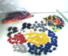 300+ K'Nex Rods & Connectors, Spacers Random Mixed Replacement Parts Pieces Lot