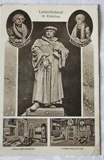 AK Lutherdenkmal - Eisleben, 1934