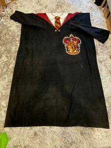 Harry Potter Hogwarts Gryffindor Snuggie Throw Blanket w/ Sleeves, Free Ship