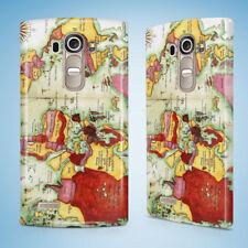 OLD WORLD MAP SKETCH ART #1 HARD CASE FOR LG G2 G3 G4 G5 G6 MINI S G4c