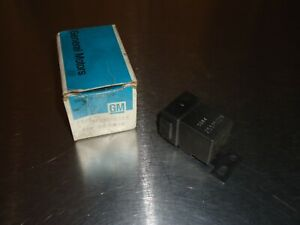 New NOS OEM GM Engine Cooling Fan Relay 25515229 Buick Oldsmobile Olds Cutlass