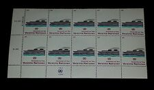 U.N. 1983, VIENNA #32, SAFETY AT SEA. INSC. BLK/10, NICE!! LQQK!!