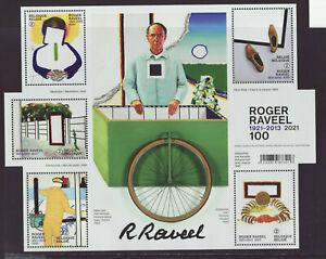 Belgium 2021 MNH - Art - Roger Raveel 100 - m/sheet