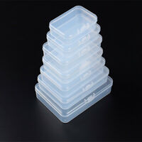 Transparent Plastic Storage Box Die Cutting Handy Craft Projects Tool Collection
