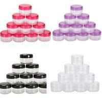 10Pcs 5g/ml Cosmetic Empty Jar Pot  Makeup Container
