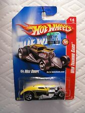 2008 HOT WHEELS WEB TRADING CARS 1/4 MILE COUPE (YELLOWBLACK) 14/24 FACTORY SET