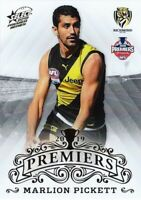✺New✺ 2019 RICHMOND TIGERS AFL Premiers Card MARLION PICKETT - 23 of 25