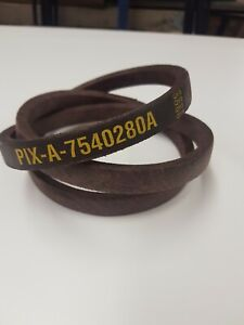 MTD 754-0280A variable speed belt J120 J130 PIX A-7540280A