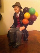 Vintage ROYAL DOULTON Figurine 'The Balloon Man'  # HN 1954