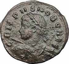 CRISPUS son of CONSTANTINE the GREAT 320AD Ancient Roman Coin Vexillum i54795
