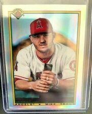 2020 Bowman Chrome Baseball Mike Trout - Angels Retro Refractor-90B - MT