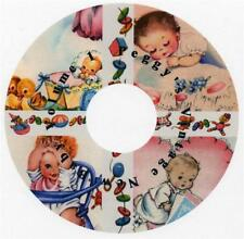 Vintage New Baby Greeting Cards CD Vol 1
