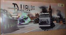 "VW Camper Van as Daleks Invasion Earth 48"" x 20"" Canvas print On A Wooden  Frame"