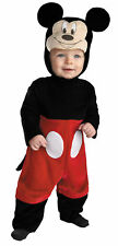 Mickey Mouse Infant Costume Jumpsuit With Snaps Halloween Dress Up Disguise