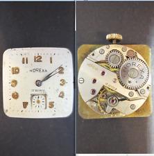 norexa eta venus unitas peseux movimento movement manual dial 24,5 watch vintage