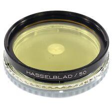 Hasselblad B50 1.5x Y -0.5 Yellow for B&W Sonnar Planar 80 100 120 135 250 (B1X)