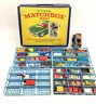 Vintage Lesney Matchbox Collectors Case W/ 39 70's And 80's Cars Lot POOR COND.