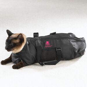 Heavy Duty Mesh Cat Grooming Bathing Restraint Bag 3 Sizes or Vet Sets Available