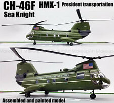 US CH-46F HMX-1 Sea Knight helicopter President transit 1/72 finished Easy model