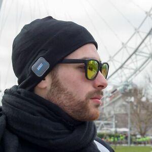 Wireless Bluetooth Beanie Hat Handsfree Music Headphones Speakers With Mic EPA20