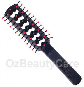Cricket Mini FastFlo Black Static Free Styling Brush #701