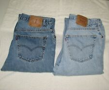 Levi's Vintage 560 Jeans  36 x 34 Loose Fit Tapered Leg ( Lot of 2 )