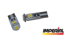 Corsa D T10 SMD sidelight & numberplate bulbs - Bright white - fits VXR SXI SRI