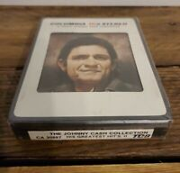 The Johnny Cash Collection His Greatest Hits Volume II  8-Track Tape Unopened!