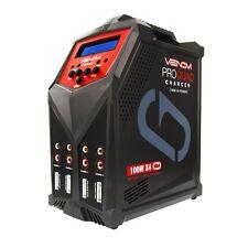 Venom Pro Quad 100W 7A 4-Port AC/DC LiPo, LiHV & NiMH Battery Balance Charger -
