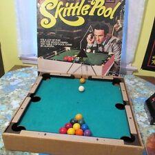 Vtg 70s Skittle Pool Maxwell Smart Aurora Board Game LOT w/ Original Box