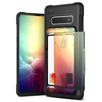 For Samsung Galaxy S10/Plus/S10e Case VRS® [Damda Shield] Slim Card Wallet Cover