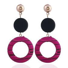 1Pair Chic Women Acrylic Resin Geometric Dangle Drop Statement Earrings Jewelry