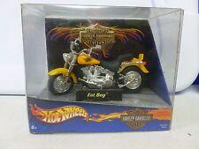Hot Wheels Harley-Davidson Motorcycles Fat Boy 1:18