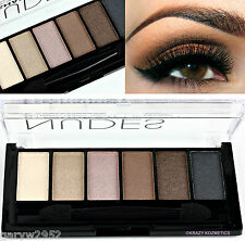 TECHNIC - NUDES - 6 Shade Eyeshadow Palette - BROWN - BEIGE - CREAM -