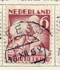 Holland 1930 Early Issue Fine Used 6c. 129799
