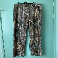 Under Armour Gore-tex Pro Realtree Hunting camo Waterproof trousers 3XL XXXL